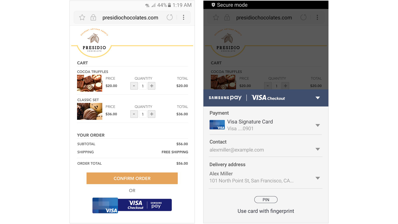 Visa - Descubre Samsung Pay y Visa Checkout